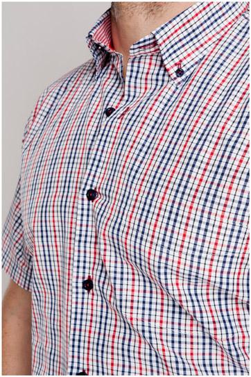Camisas, Sport Manga Corta, 106798, MARINO