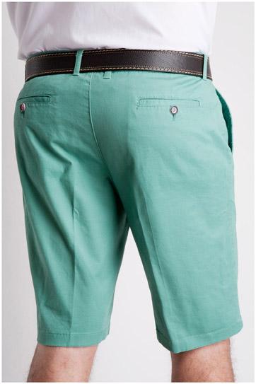 Pantalones, Bermudas, 106808, VERDE