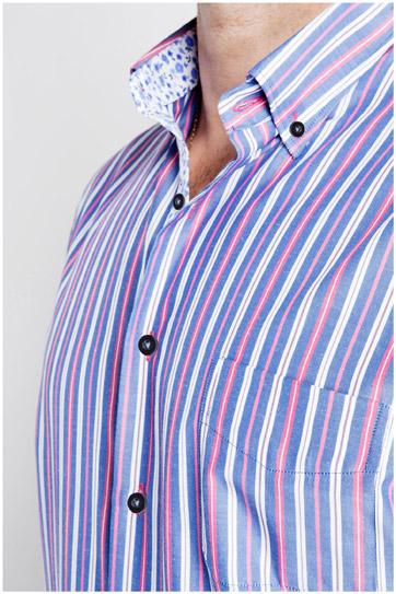 Camisas, Sport Manga Corta, 106814, MARINO