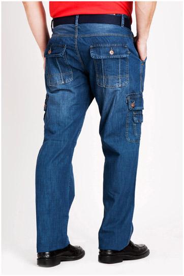 Pantalones, Vaqueros, 106834, INDIGO