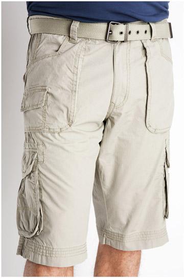 Pantalones, Bermudas, 106840, KAKI