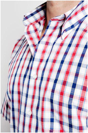 Camisas, Sport Manga Corta, 106853, MARINO