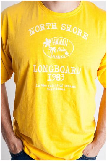 Sport, Camisetas M. Corta, 106854, AMARILLO