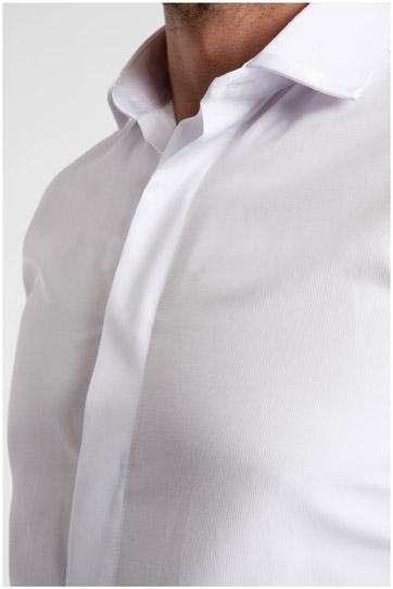 Camisas, Ceremonia, 106925, BLANCO