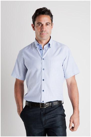 Camisas, Sport Manga Corta, 106929, MARINO
