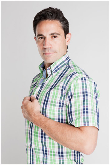 Camisas, Sport Manga Corta, 106933, VERDE