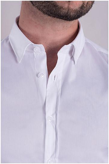 Camisas, Vestir Manga Larga, 106939, BLANCO