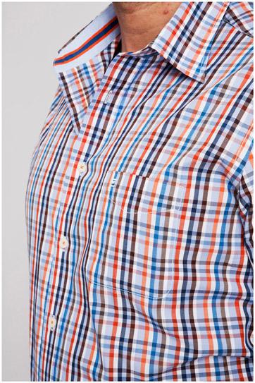 Camisas, Sport Manga Corta, 106978, CORAL