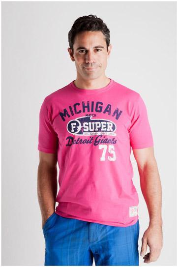 Sport, Camisetas M. Corta, 106992, FUCSIA