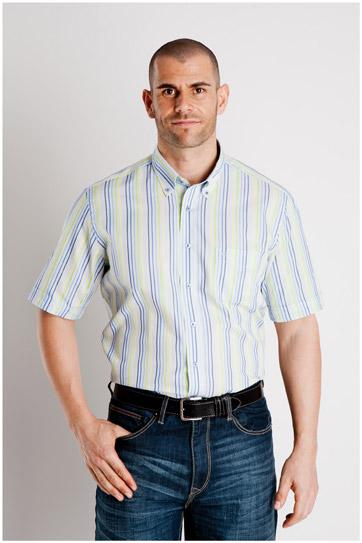 Camisas, Sport Manga Corta, 107009, LIMA