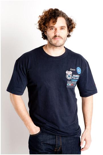 Sport, Camisetas M. Corta, 107068, MARINO