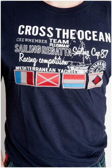 Sport, Camisetas M. Corta, 107069, MARINO