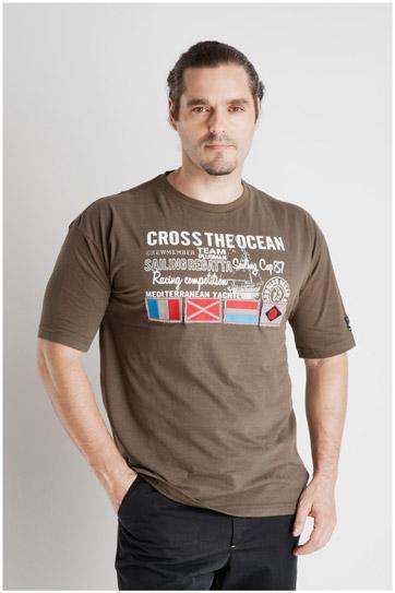 Sport, Camisetas M. Corta, 107069, KAKI