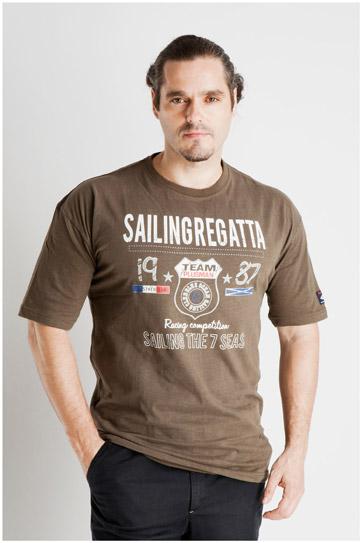 Sport, Camisetas M. Corta, 107071, KAKI