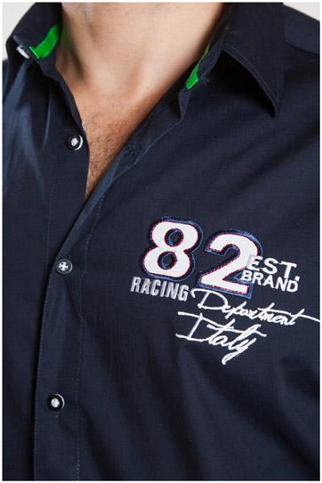 Camisas, Sport Manga Larga, 107102, MARINO