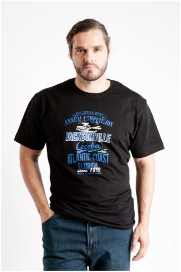 Sport, Camisetas M. Corta, 107116, NEGRO