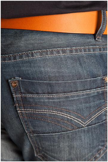 Pantalones, Vaqueros, 107123, INDIGO
