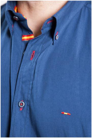 Camisas, Sport Manga Larga, 107154, MARINO