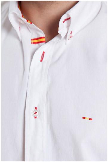 Camisas, Sport Manga Larga, 107154, BLANCO
