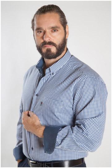 Camisas, Sport Manga Larga, 107159, MARINO