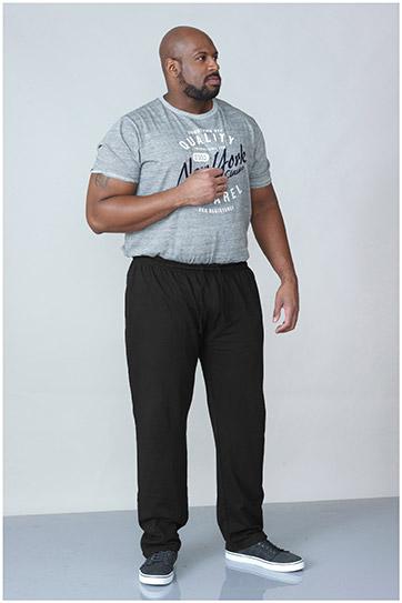 Pantalones, Chandal, 107251, NEGRO