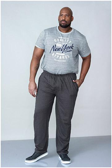 Pantalones, Chandal, 107251, GRIS MEDIO