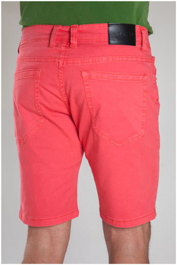 Pantalones, Bermudas, 107296, CORAL