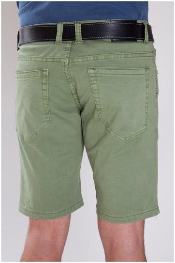 Pantalones, Bermudas, 107296, VERDE