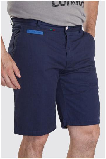 Pantalones, Bermudas, 107297, MARINO