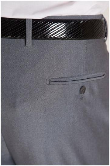 Pantalones, Vestir, 107301, GRIS MEDIO