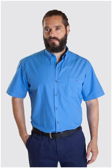 Camisas, Sport Manga Corta, 107340, ROYAL