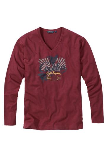 Sport, Camisetas M. Larga, 107388, GRANATE