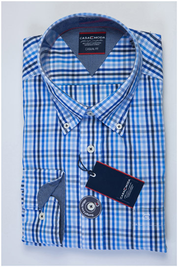 Camisas, Sport Manga Larga, 107482, MARINO