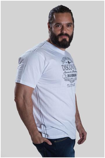 Sport, Camisetas M. Corta, 107493, BLANCO