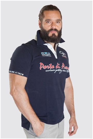 Sport, Polos M. Corta, 107511, MARINO