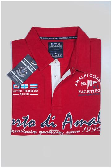 Sport, Polos M. Corta, 107511, ROJO