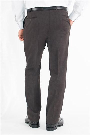 Pantalones, Vestir, 107567, MARRON