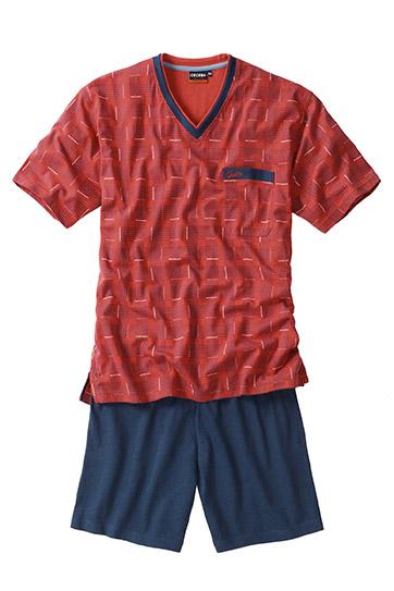 Homewear, Pijama M. Corta, 107627, ROJO