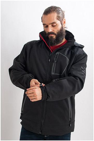 Abrigo, Chaquetones y Piel, 107727, NEGRO