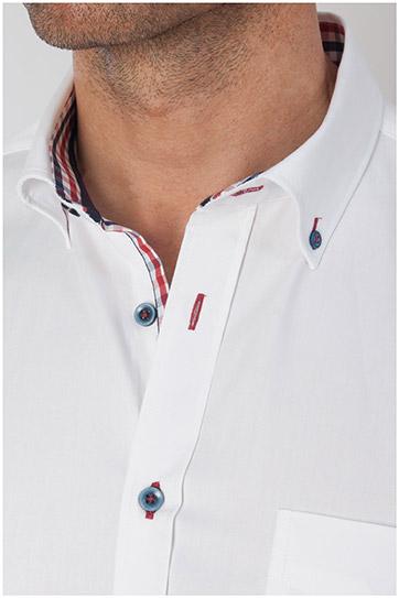 Camisas, Sport Manga Larga, 107793, BLANCO