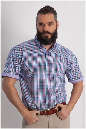 Camisas, Sport Manga Corta, 107819, MORADO
