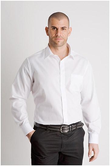 Camisas, Vestir Manga Larga, 107852, BLANCO