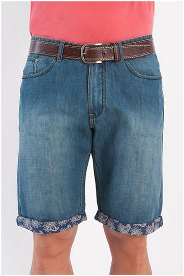 Pantalones, Bermudas, 107877, INDIGO
