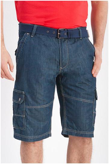Pantalones, Bermudas, 107878, INDIGO
