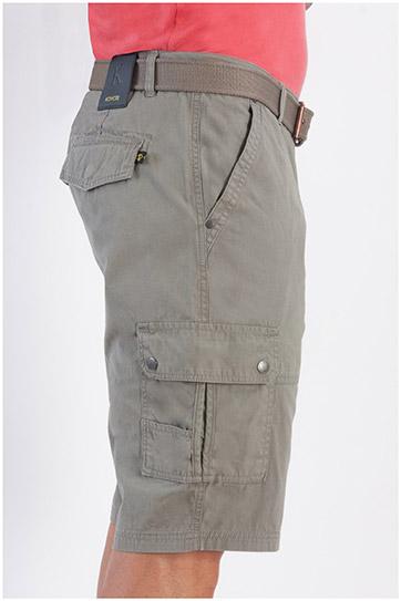 Pantalones, Bermudas, 107882, KAKI