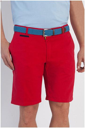 Pantalones, Bermudas, 107905, ROJO