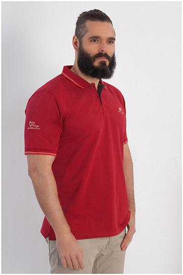 Sport, Polos M. Corta, 107923, GRANATE