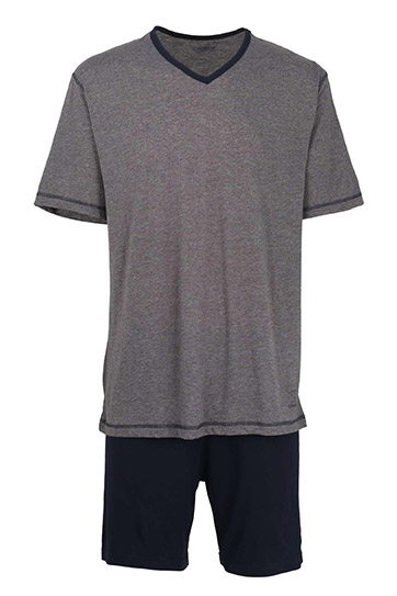 Homewear, Pijama M. Corta, 107962, GRIS MEDIO