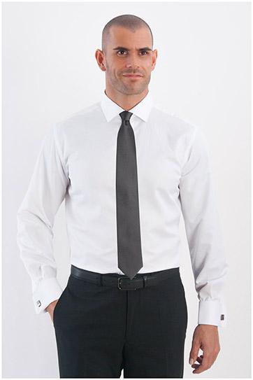 Camisas, Vestir Manga Larga, 107964, BLANCO