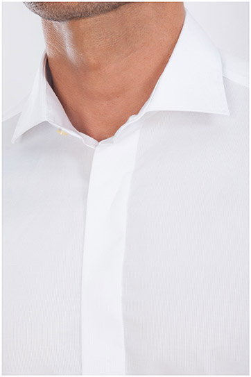 Camisas, Vestir Manga Larga, 107965, BLANCO